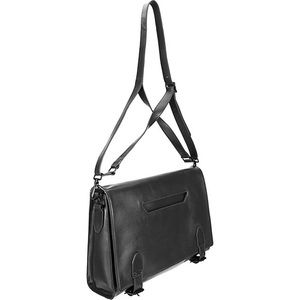 Theyskens' Theory Leather Messenger Bag